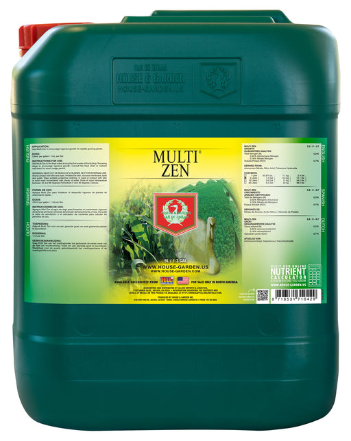 House and Garden Multi Zen 5 Liter-NWGSupply.com