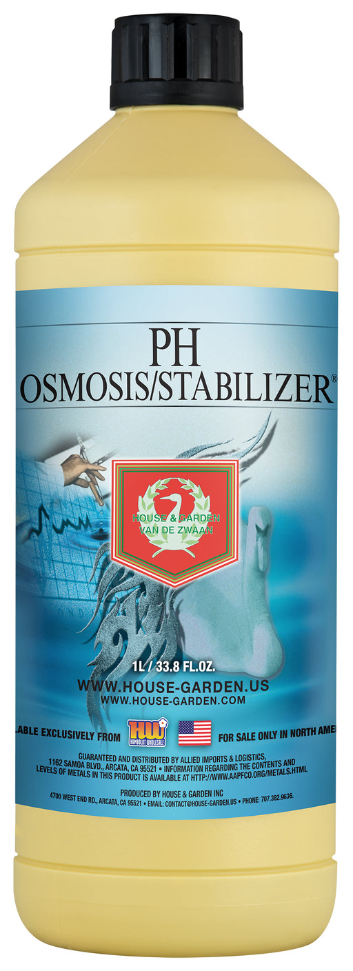 House and Garden pH + Osmosis Stabilize 1 Liter-NWGSupply.com