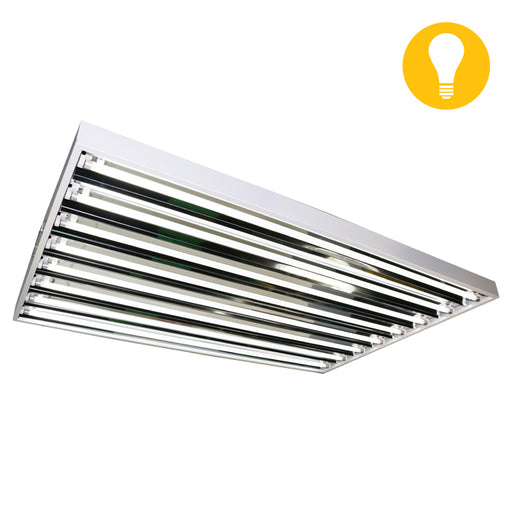 Lightech T5 4' 8 Grow Bulb Fixture 120/240V-NWGSupply.com