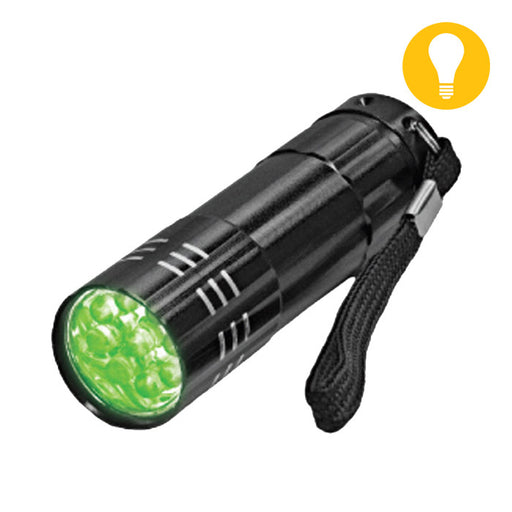 Green LED Mini Flash Light-NWGSupply.com