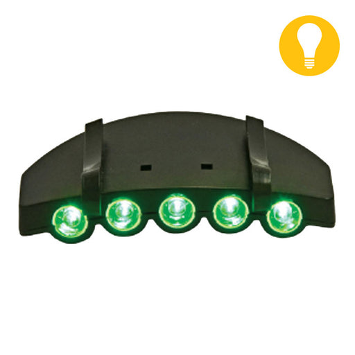 Green LED Hat Light-NWGSupply.com