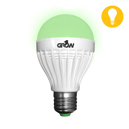 Green LED Light Bulb 9W-NWGSupply.com