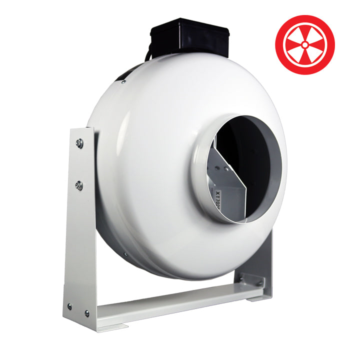 4'' High-Output In-Line Duct Fan-NWGSupply.com