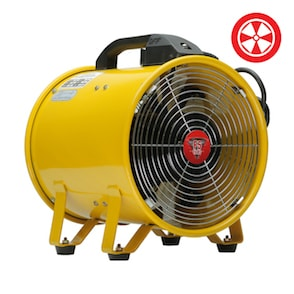 "18"" Portable Ventilation Axial Fan-NWGSupply.com"