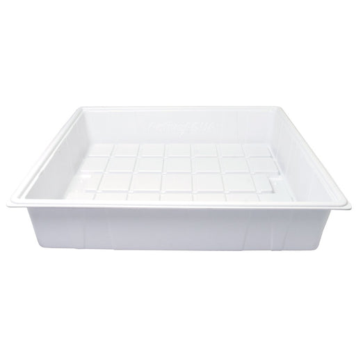 Active Aqua Premium Flood Table, White, 2' x 2'-NWGSupply.com