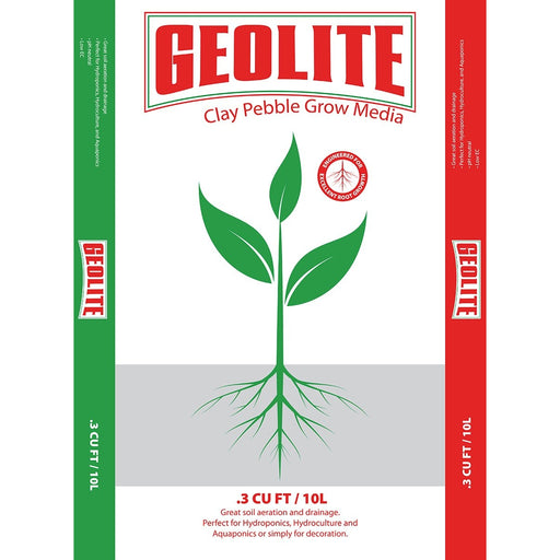 GEOLITE Clay Pebbles, 10 L-NWGSupply.com