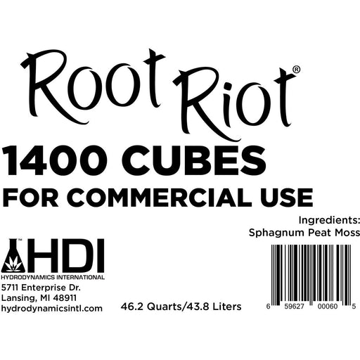 Root Riot Cubes 1400 ct. Box-NWGSupply.com