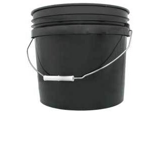 Black Bucket, 3 gal-NWGSupply.com