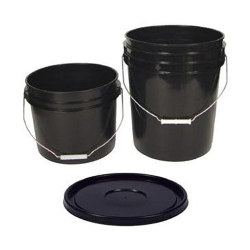 Bucket Lid, 5 Gallon, Black-NWGSupply.com