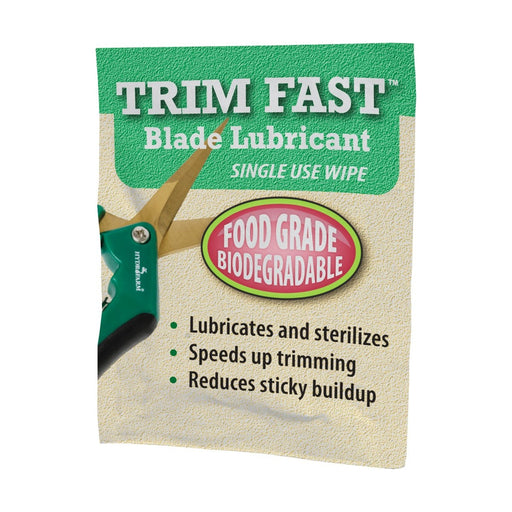 Trim Fast Blade Lubricant, single use wipe, pack of 25-NWGSupply.com
