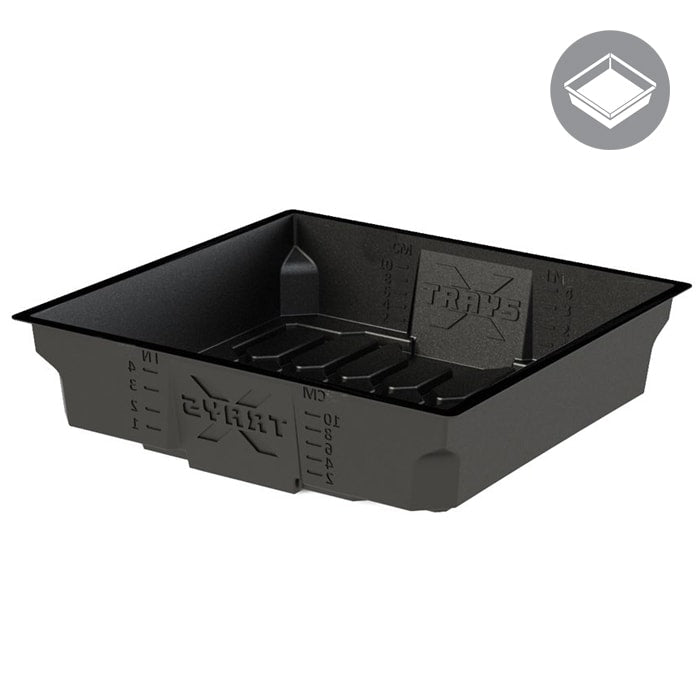 2x2 Black X-Trays Flood Table-NWGSupply.com
