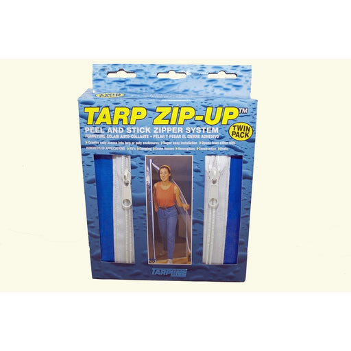 Tarpline USA Tarp Zip Up Blue, Twin Pack-NWGSupply.com