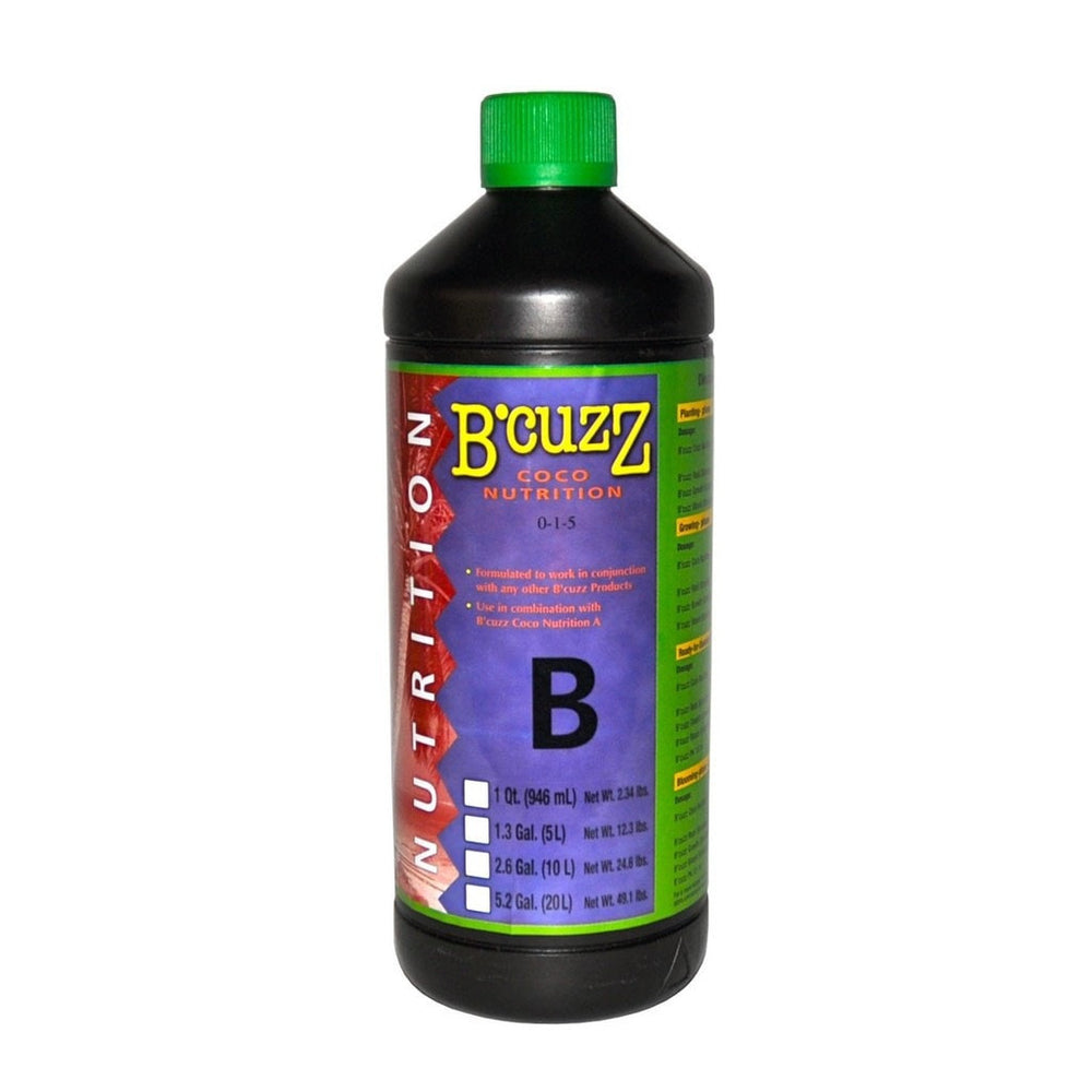 1L B'Cuzz Coco Nutrition Component B-NWGSupply.com