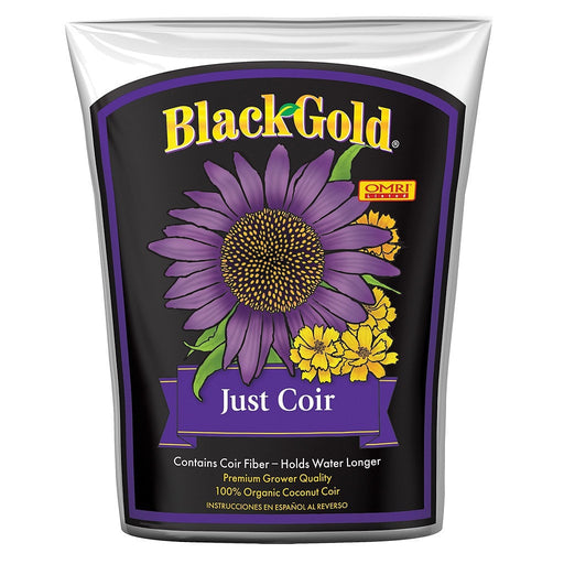 Black Gold Just Coir, 2 cu ft-NWGSupply.com