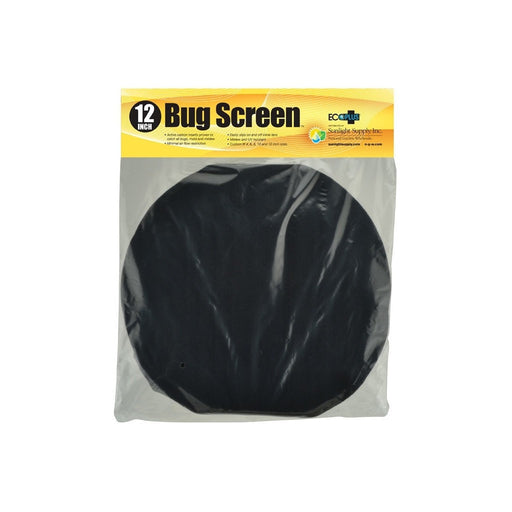 Black Ops Bug Screen w/ Active Carbon Insert 12 in-NWGSupply.com