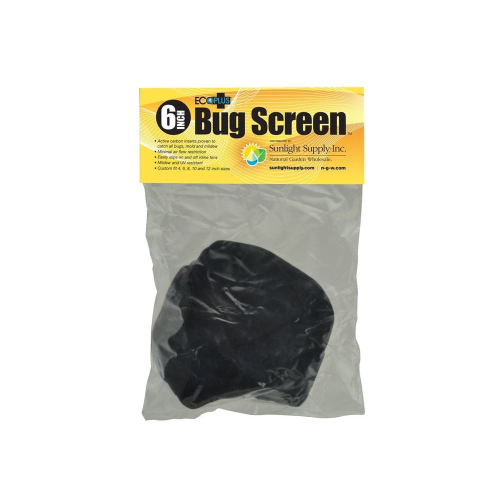 Black Ops Black Ops Bug Screen w/ Active Carbon Insert 6 in