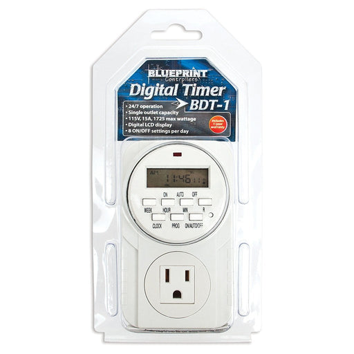 Blueprint Digital Timer 120V, BDT-1-NWGSupply.com
