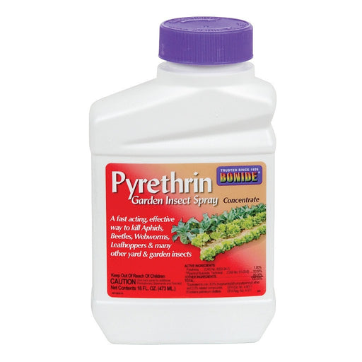 Pyrethrin Garden Insect Spray Concentrate, 16 oz-NWGSupply.com