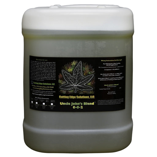 Uncle John's Blend 2.5 Gallon-NWGSupply.com