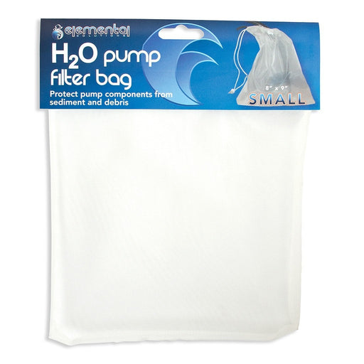 "Elemental H2O Pump Filter Bag Small, 8"" x 9""-NWGSupply.com"
