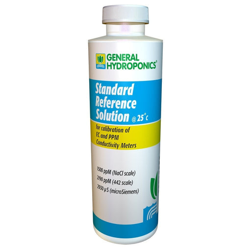 General Hydroponics 1500 ppm Calibration Solution 8 oz