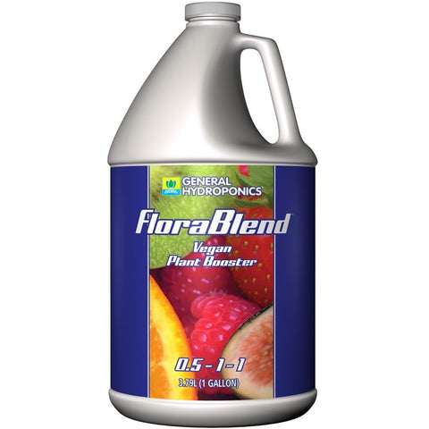 General Hydroponics Flora Blend-Vegan Compost Tea 0.5-1-1. 1 gal