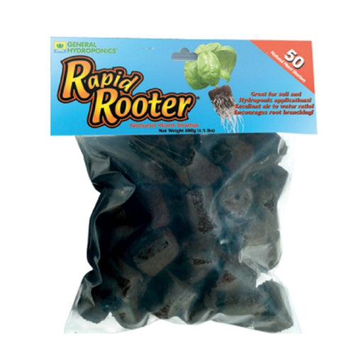 General Hydroponics Rapid Rooter 50/Pack Replacement Plugs-NWGSupply.com