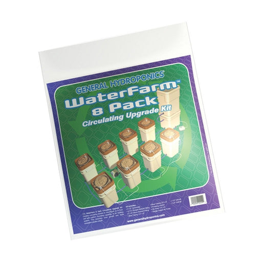 General Hydroponics WaterFarm 8/Pack Circulating Upgrade Kit-NWGSupply.com