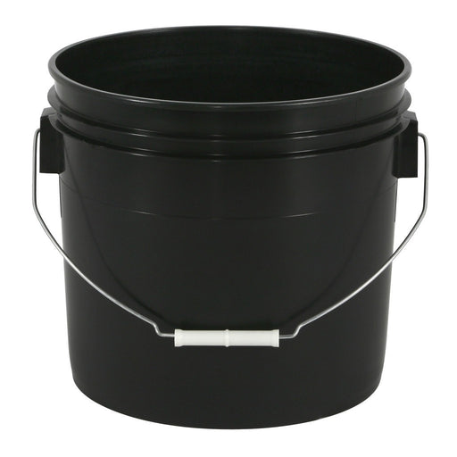 Gro Pro Black Plastic Bucket 3.5 Gallon-NWGSupply.com
