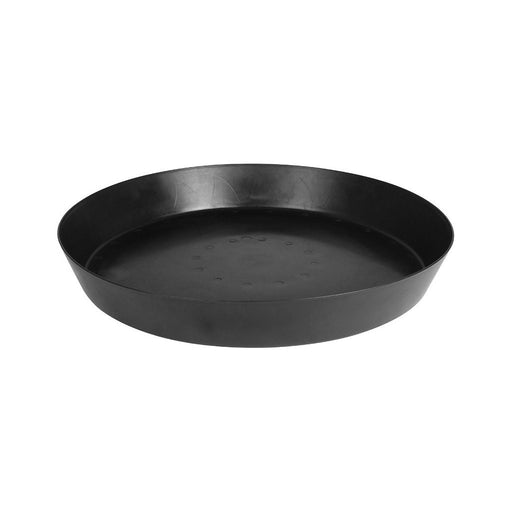 Gro Pro Heavy Duty Black Saucer w/ Tall Sides - 25 in-NWGSupply.com