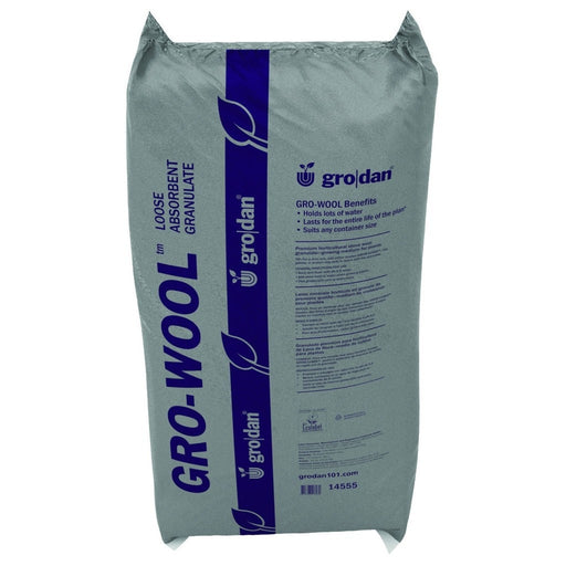 Gro-Wool Medium Water Absorbent Granulate, 13.4 cu ft-NWGSupply.com