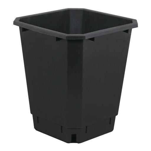Maxipot Black 9.6 in x 9.6 in x 11.5 in-NWGSupply.com