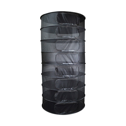 Grower's Edge Dry Rack Enclosed w/ Zipper Opening - 3 ft-NWGSupply.com