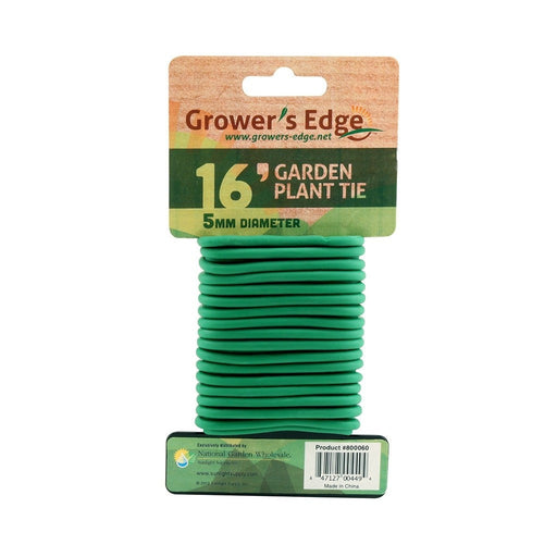 Grower's Edge Soft Garden Plant Tie 5mm - 16 ft-NWGSupply.com