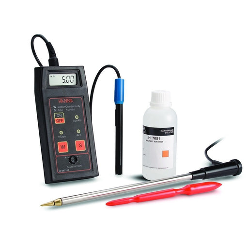 Soil Conductivity/Salinity Meter w/ Carrying Case-NWGSupply.com
