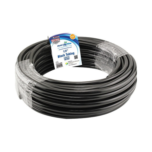 Hydro Flow Vinyl Tubing Black 1/2 in ID - 5/8 in OD 100 ft Roll-NWGSupply.com