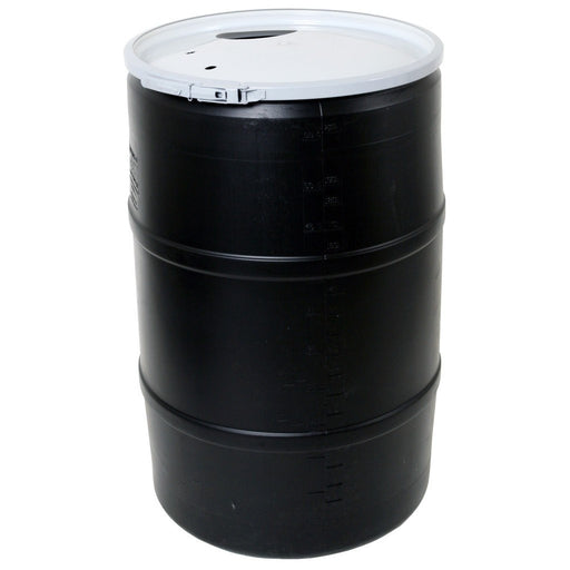55 Gal Drum w/Solid Lid & Lock-NWGSupply.com