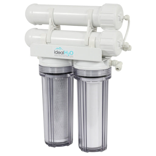 Ideal H2O Classic 3 Stage RO System w/ Coconut Carbon Pre Filter - 200 GPD-NWGSupply.com