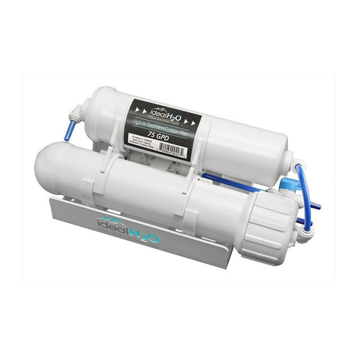 Ideal H2O Classic 3 Stage RO System w/ Granular Activated Carbon (GAC) Pre Filter - 75 GPD-NWGSupply.com