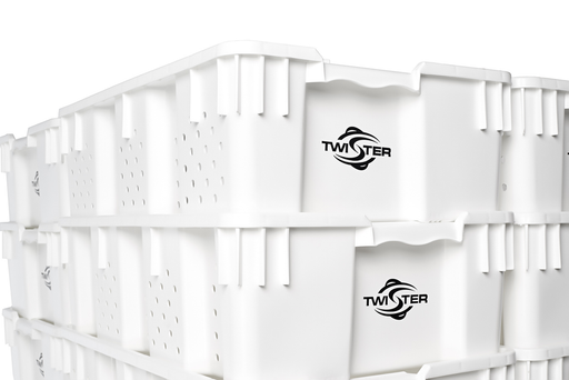 Twister Stackable Freezing / Handling Trays-NWGSupply.com