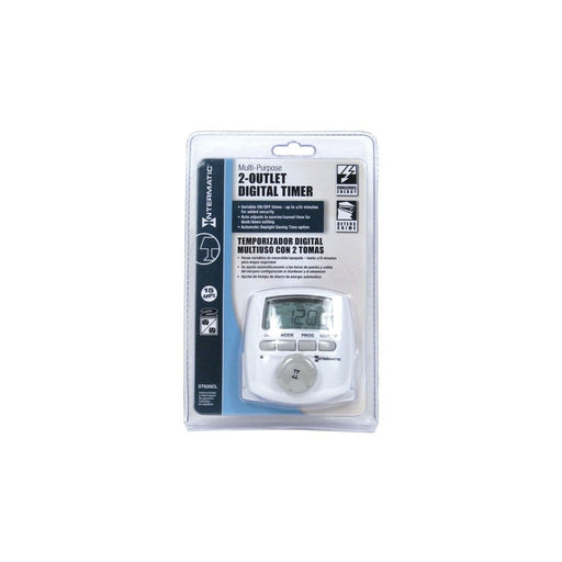 Intermatic Intermatic 2 Outlet Digital Timer DT620CL 120 Volt