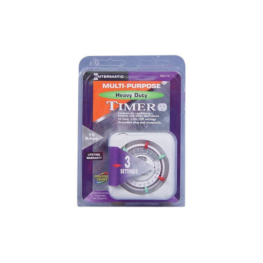 Intermatic Intermatic TN311C Heavy Duty Timer 120 Volt