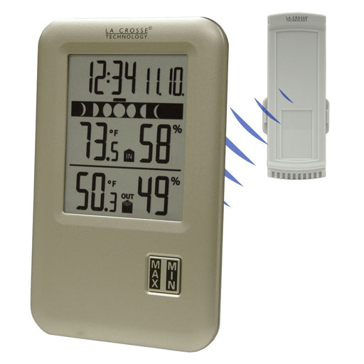 Wireless Weather Station w/Moon Phase-NWGSupply.com
