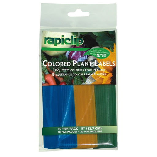 Luster Leaf Colored Plant Labels 5 in-NWGSupply.com