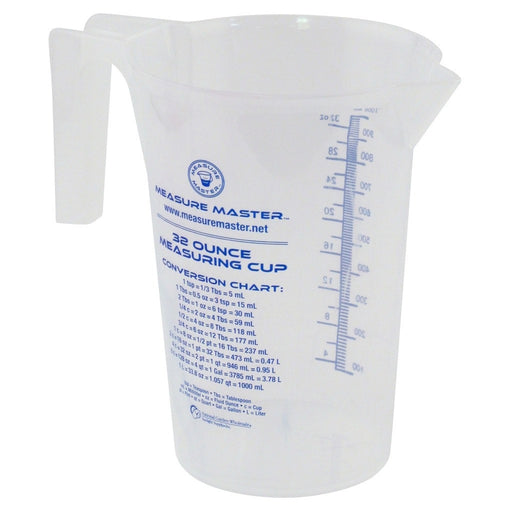 Measure Master Graduated Round Container 32 oz / 1000 ml-NWGSupply.com