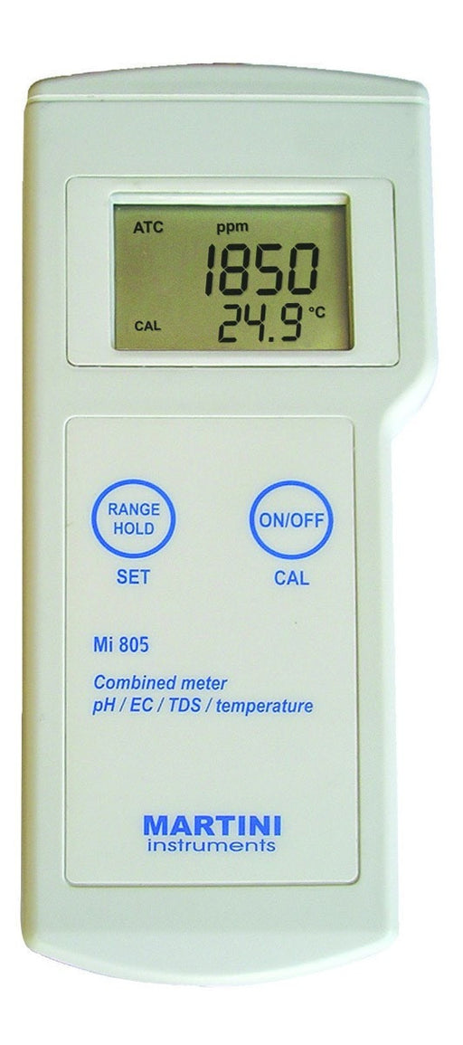 Milwaukee Instruments Mi 805 Commercial Grade Combo pH/EC/TD-NWGSupply.com