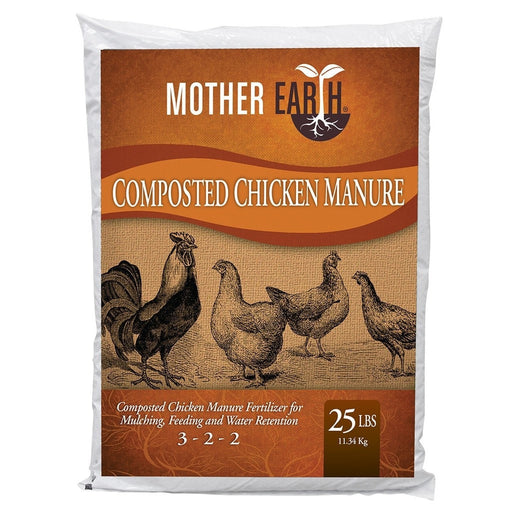 Mother Earth Composted Chicken Manure 25 lbs-NWGSupply.com