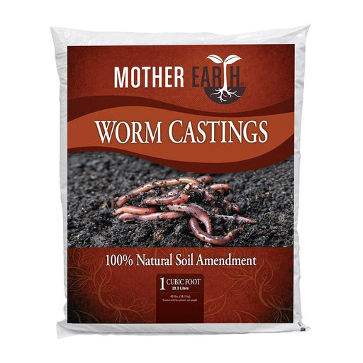 Mother Earth Worm Castings 1 cu ft-NWGSupply.com