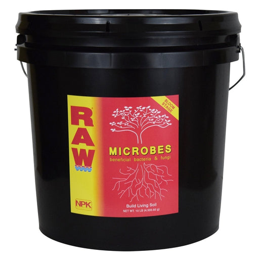 RAW Microbes Bloom Stage 10 lb-NWGSupply.com