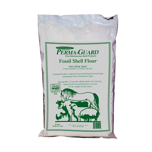 Perma Guard Diatomaceous Earth Fossil Shell Flour Food Grade 50 lb-NWGSupply.com